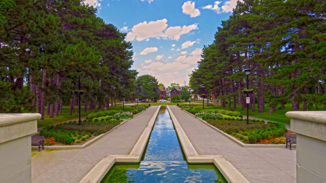 """""""Spectacular Gage Park"""" stock image"""