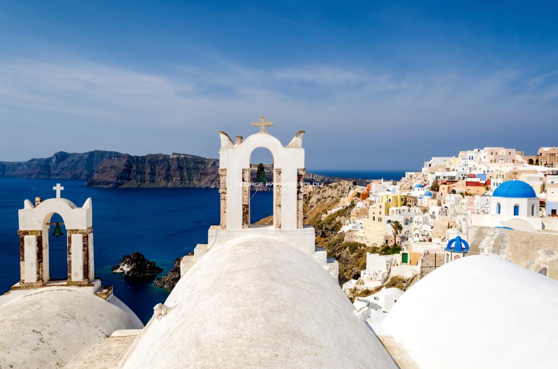 """Oia Santorini"" stock image"