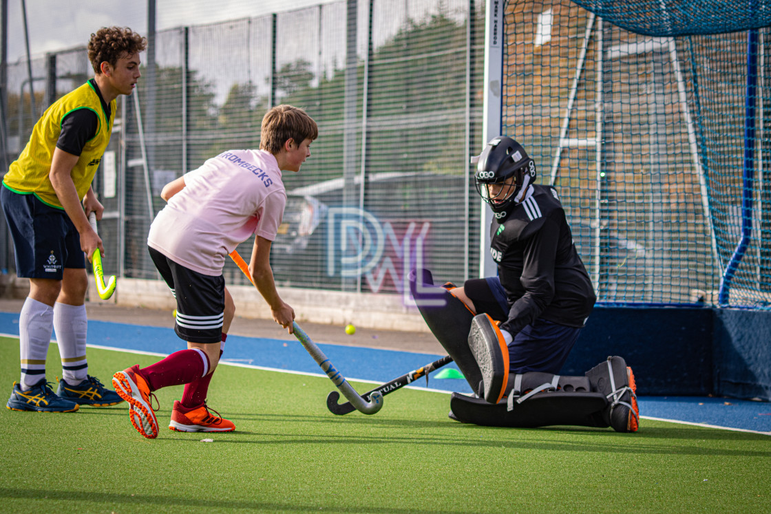 """Hockey camp - Morning session - 19102020"" stock image"