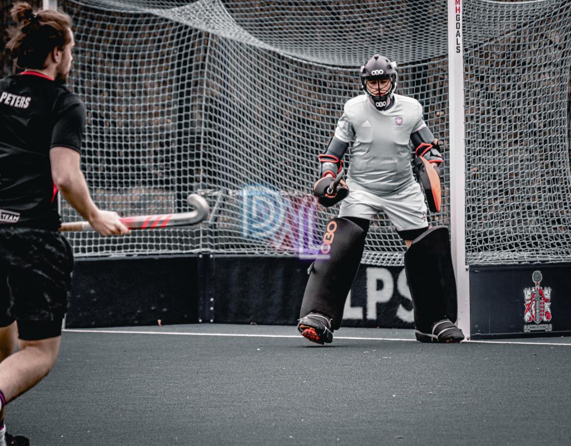 """Field hockey players"" stock image"