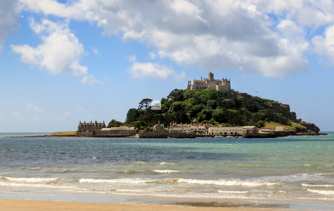 """St Michael Mount"" stock image"