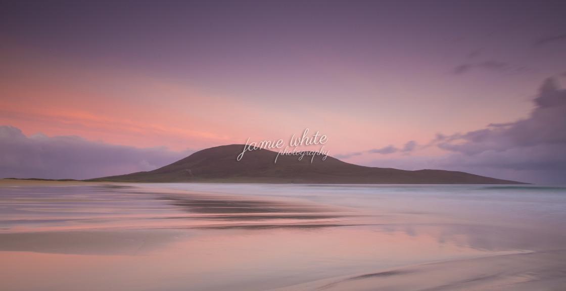 """Lone Island Sunset"" stock image"
