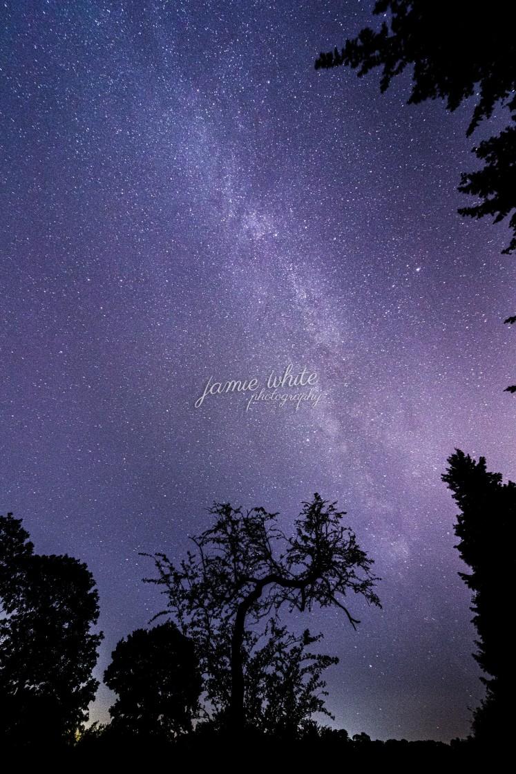 """The Milky Way"" stock image"