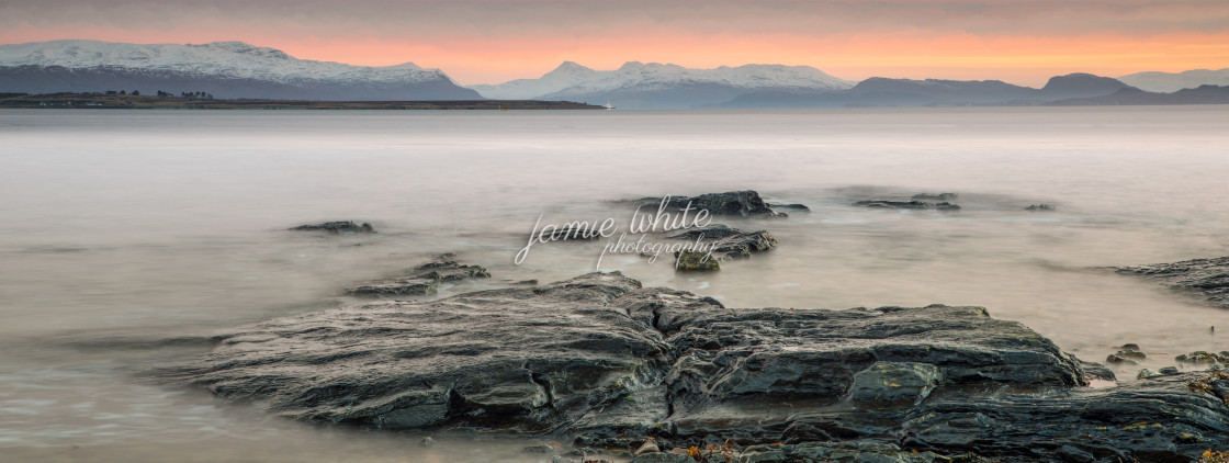 """Broadford Bay, Isle of Skye"" stock image"