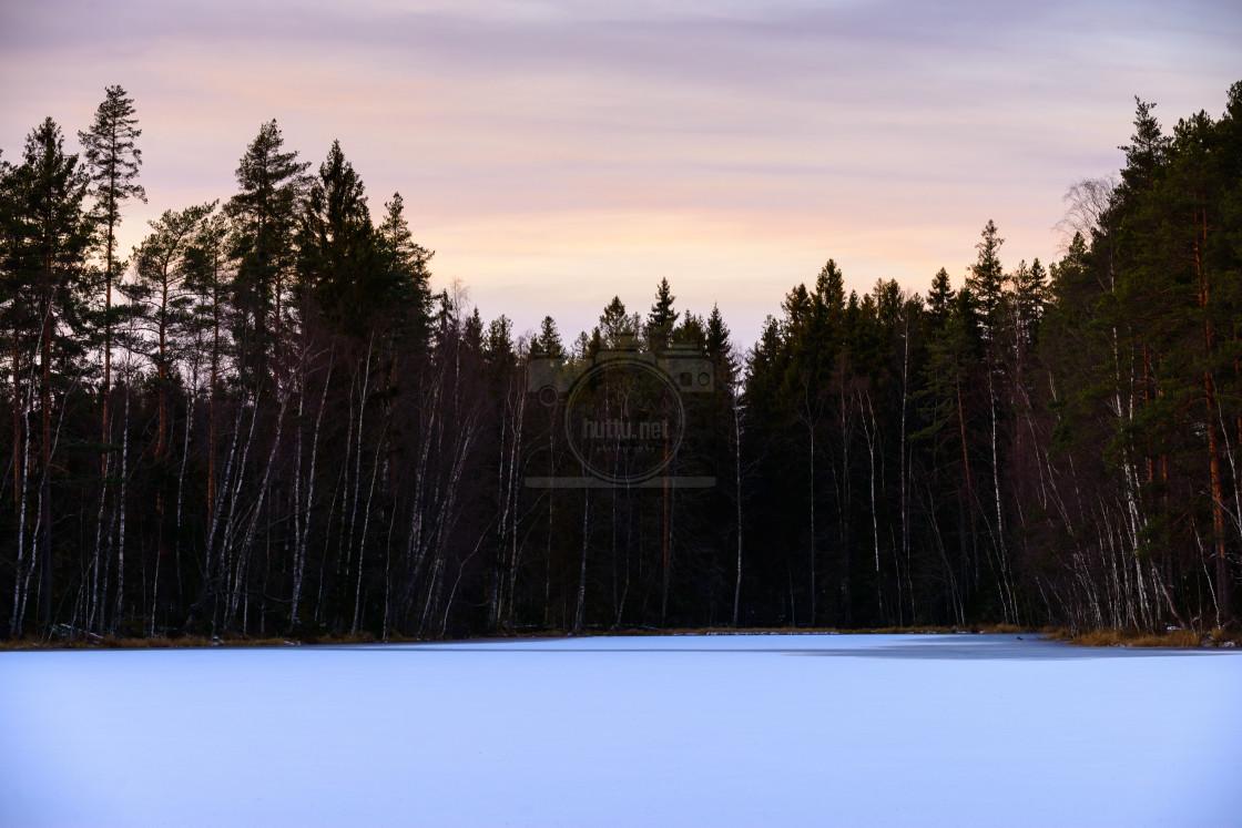 """""""Kastantajärvi"""" stock image"""