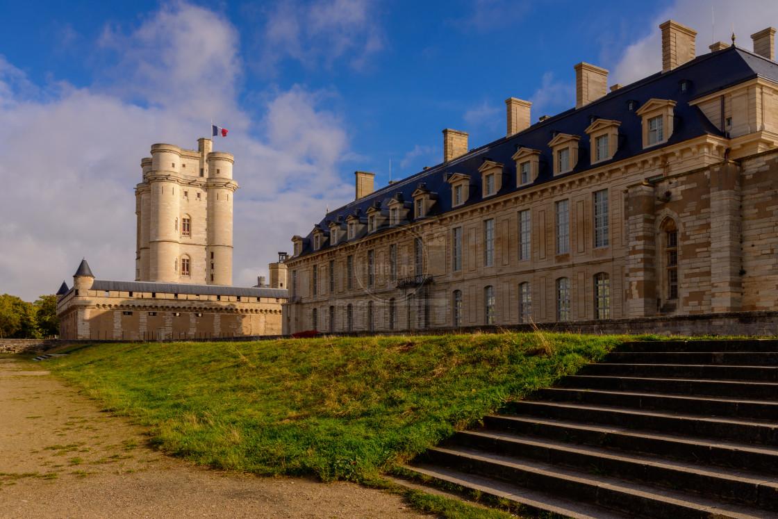 """""""Château de Vincennes"""" stock image"""