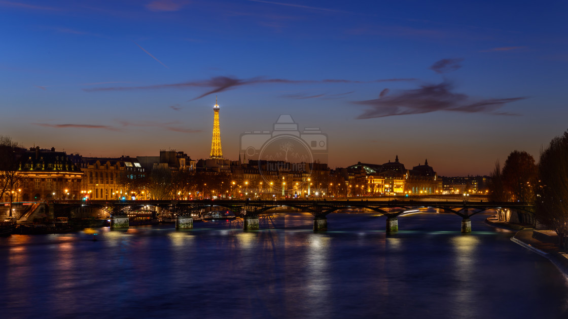 """""""La Tour Eiffel 3/3"""" stock image"""