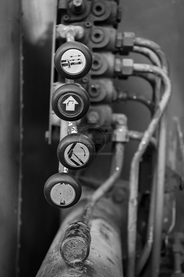 """Levers"" stock image"