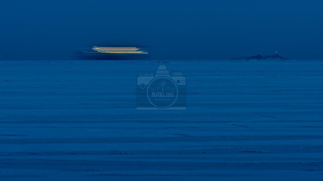 """""""Laiva on lastattu"""" stock image"""