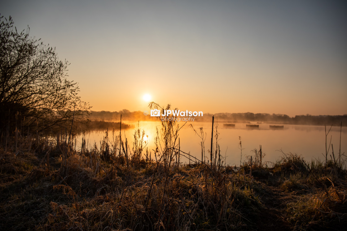 """Staveley Sunrise"" stock image"
