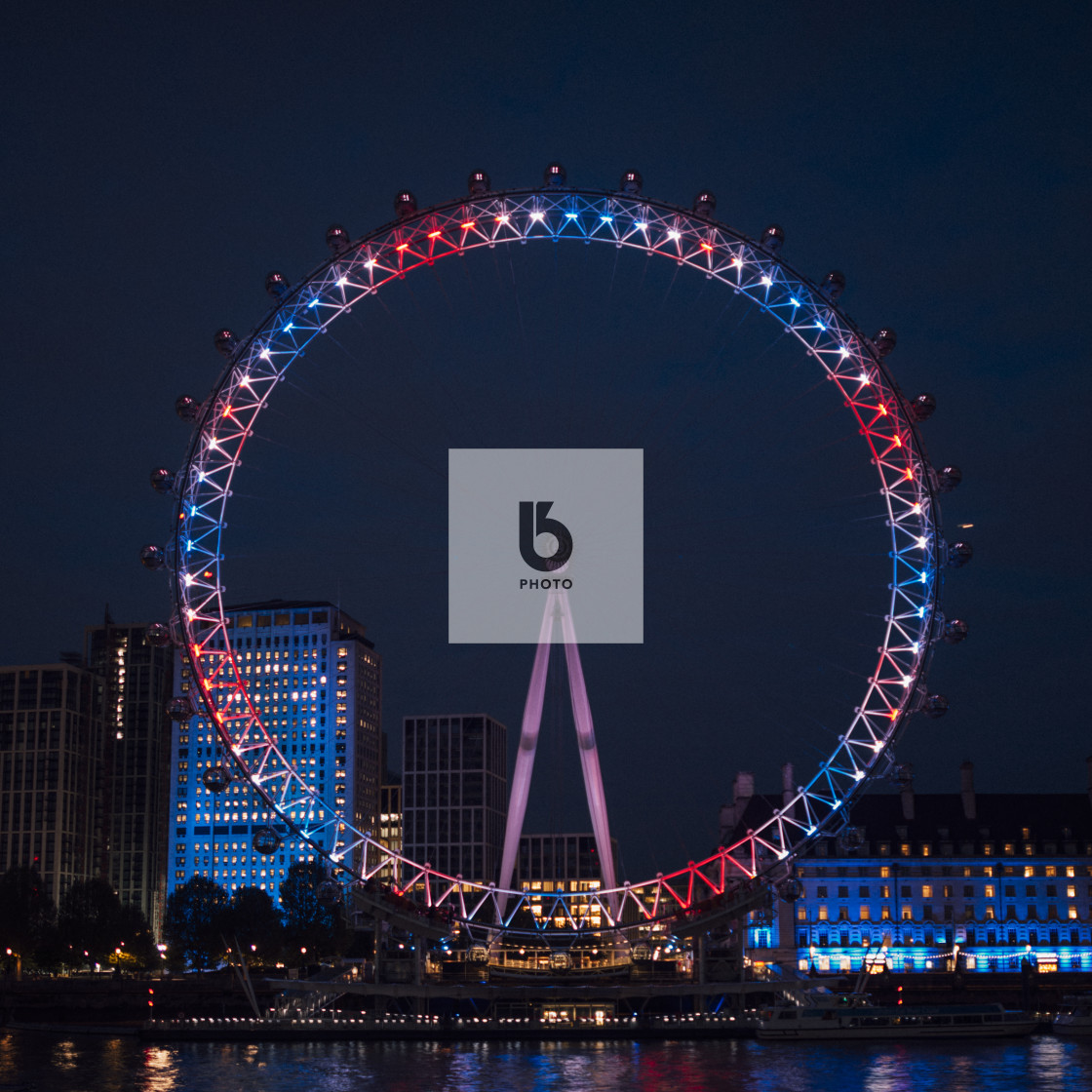 """London Eye, London, UK"" stock image"