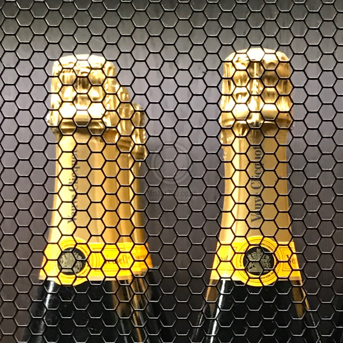"""""""Caged champagne"""" stock image"""