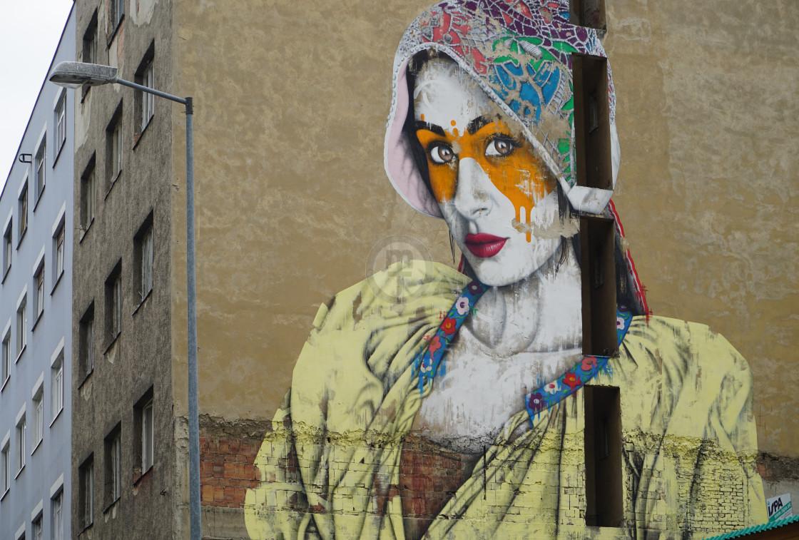 """""""Street Art Festival, Bratislava"""" stock image"""