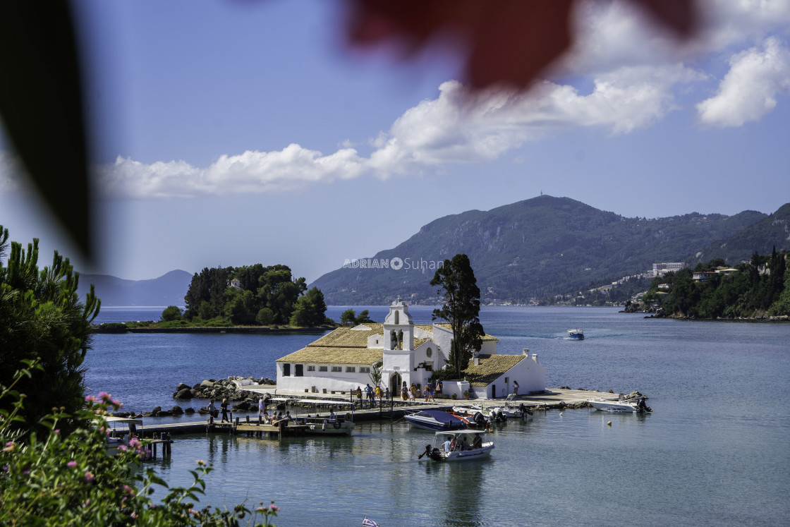"""Biserica Vlacherna, Corfu Island"" stock image"