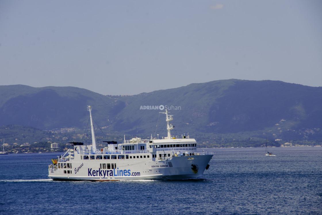 """""""Ship at sea"""" stock image"""