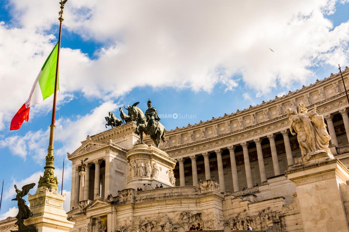 """""""Altare della Patria"""" stock image"""