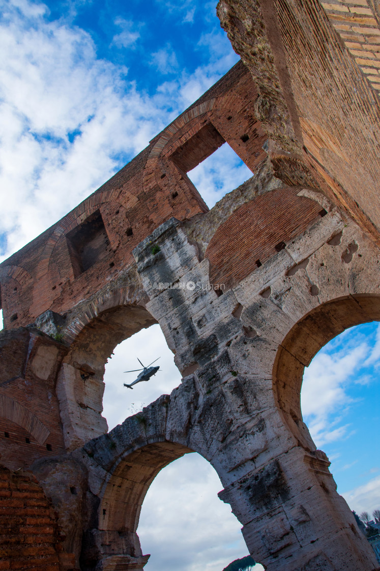 """Colosseum inside"" stock image"