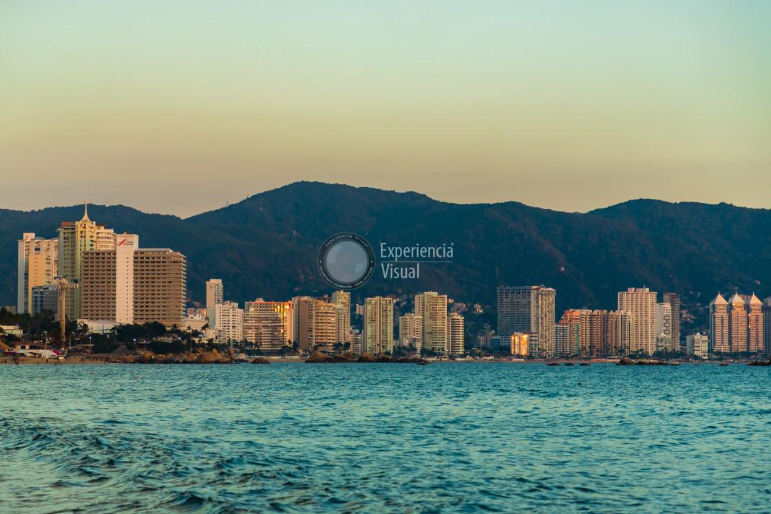 """Acapulco hotels"" stock image"