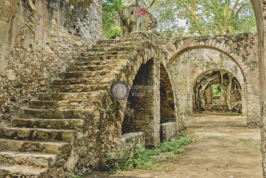 """Ex Hacienda de Ixtoluca IV"" stock image"