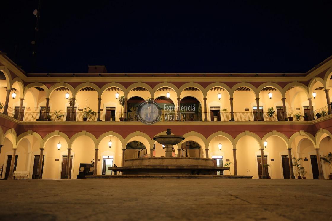 """Municipal Palace of El Fuerte"" stock image"