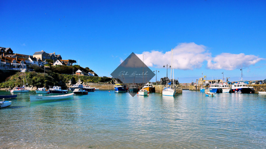"""""""'Down The Harbour'"""" stock image"""