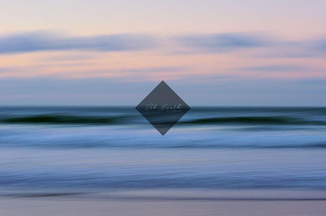 """Pastel Ocean"" stock image"