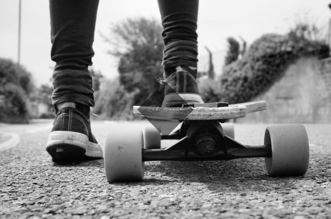 """Skater."" stock image"