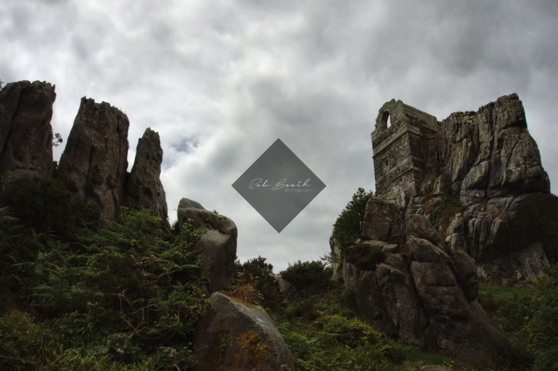 """Roche Rock."" stock image"