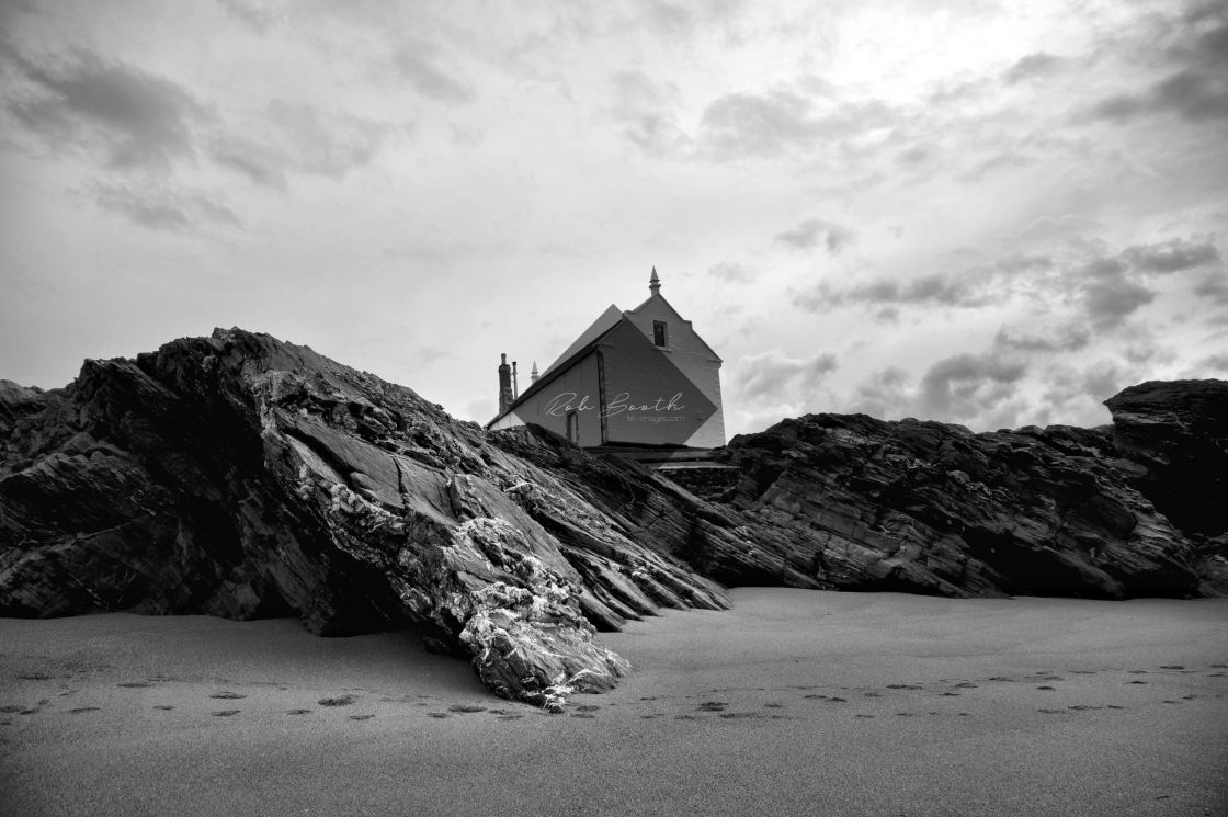 """""""The Old Lifeboat Station."""" stock image"""