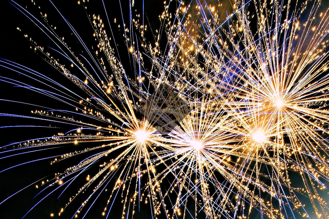 """""""Newquay Fireworks"""" stock image"""