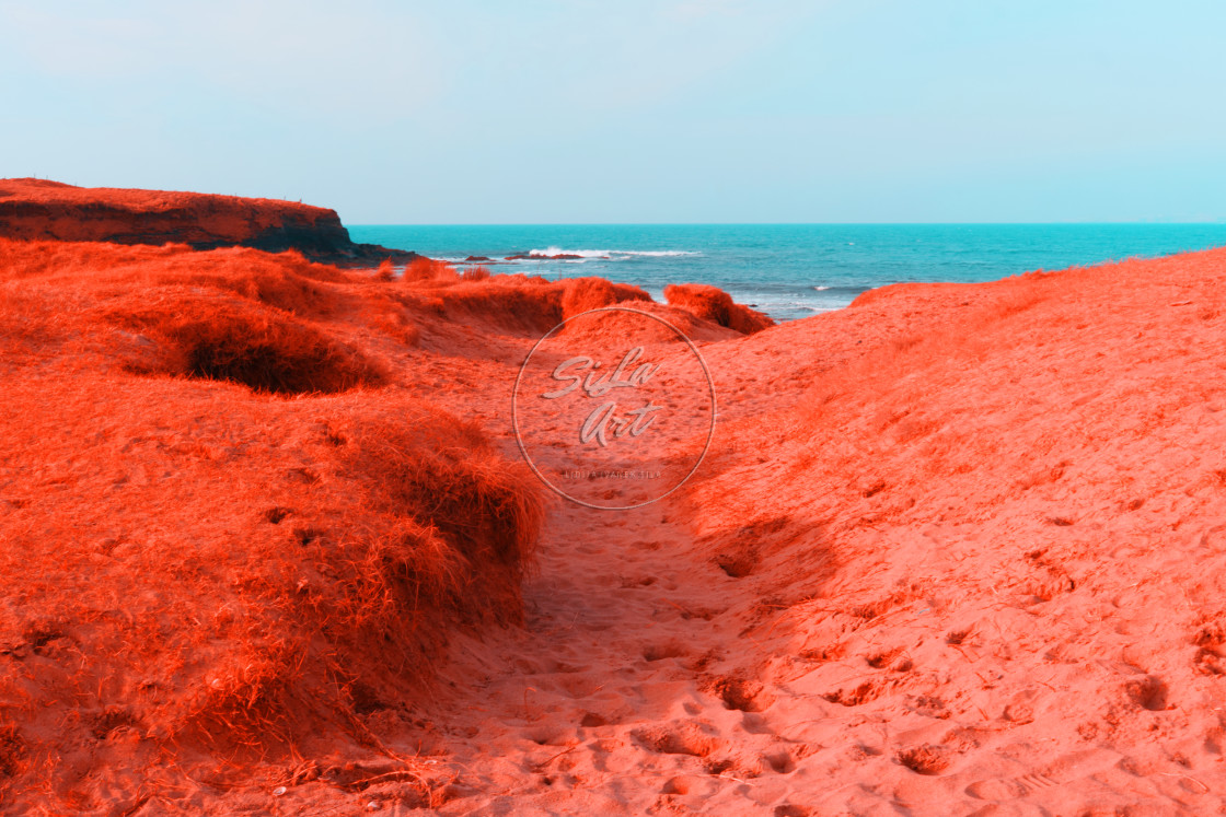 """""""Red Earth"""" stock image"""