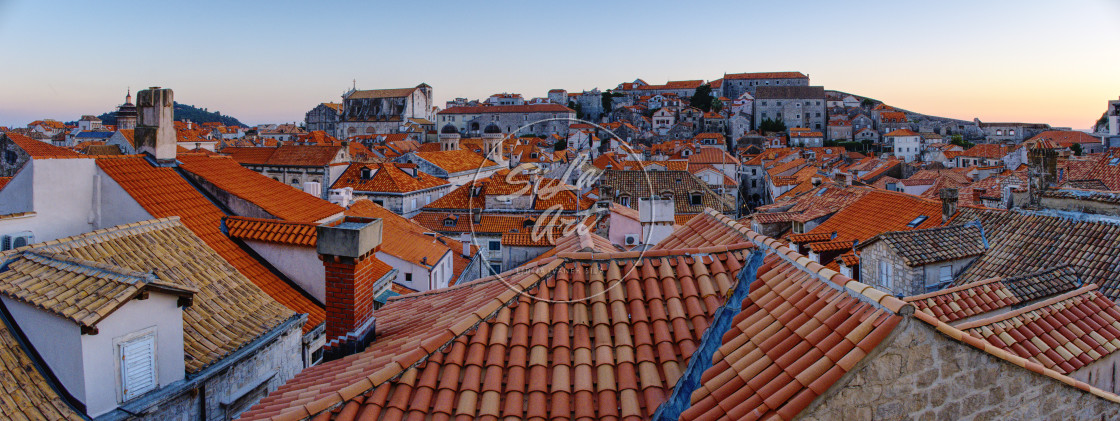 """""""Red rooftops"""" stock image"""