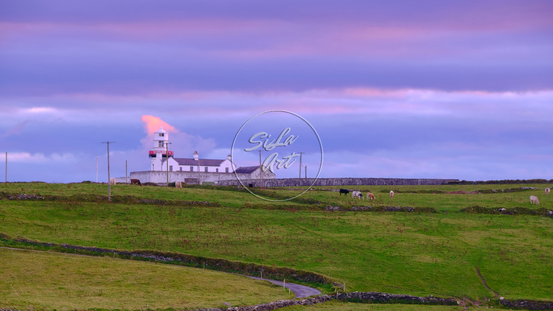 """Galley Head Lighthouse"" stock image"