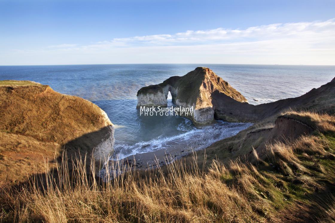 """High Stacks at Flamborough Head"" stock image"
