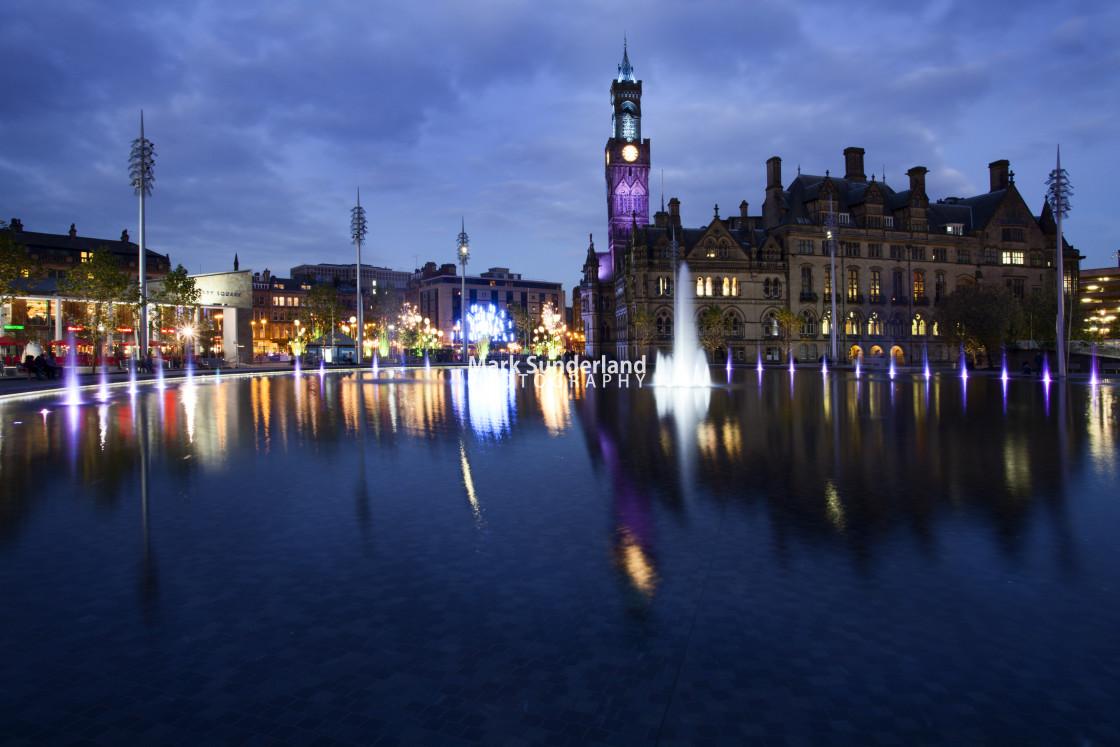 """Garden of Light Display in Bradford"" stock image"