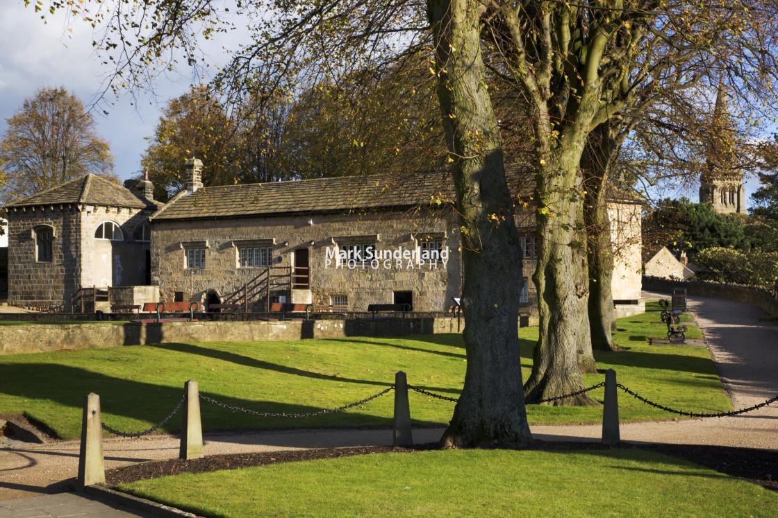 """The Courthouse Museum Knaresborough North Yorkshire England"" stock image"