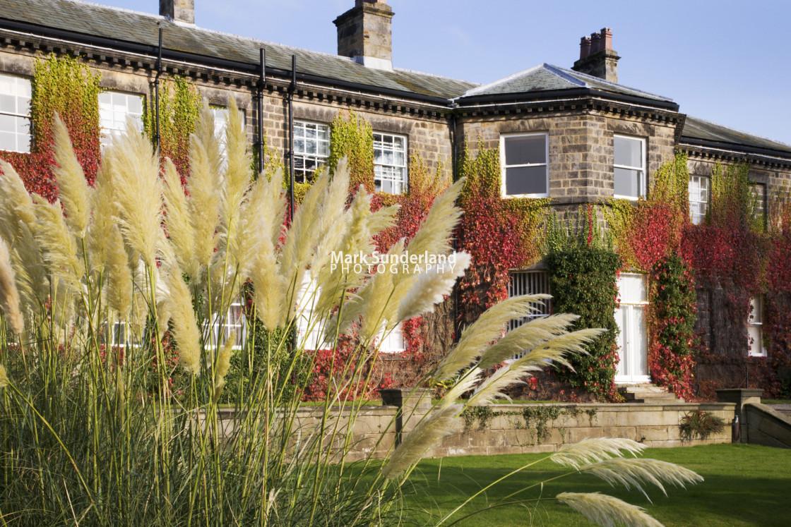 """Conyngham Hall at Knaresborough"" stock image"