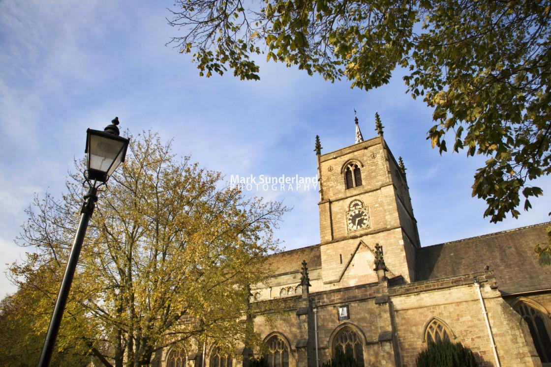 """""""St Johns Church at Knaresborough"""" stock image"""
