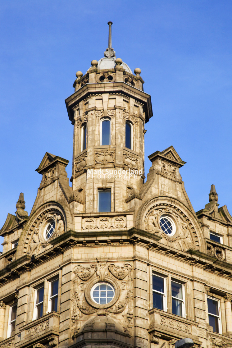 """""""Buildings in the Victoria Quarter Leeds West Yorkshire England"""" stock image"""