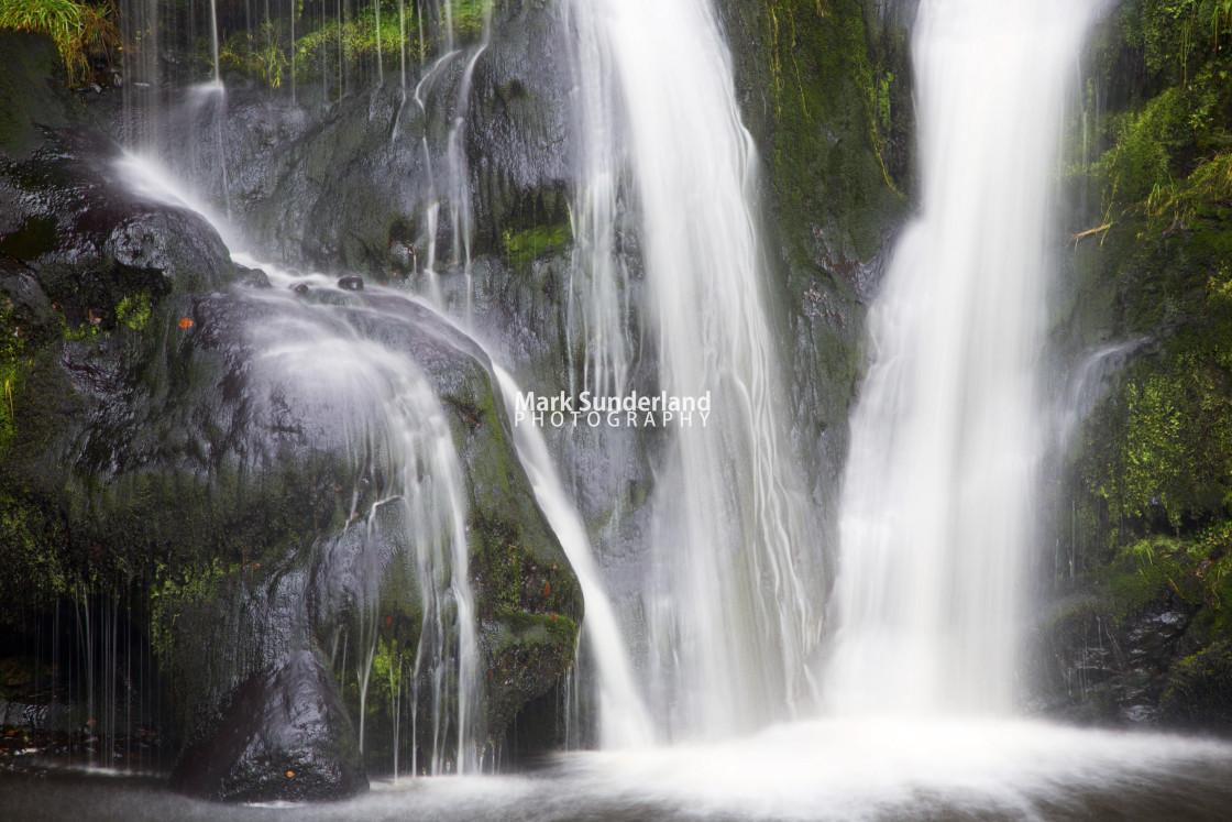 """Posforth Gill Waterfall"" stock image"