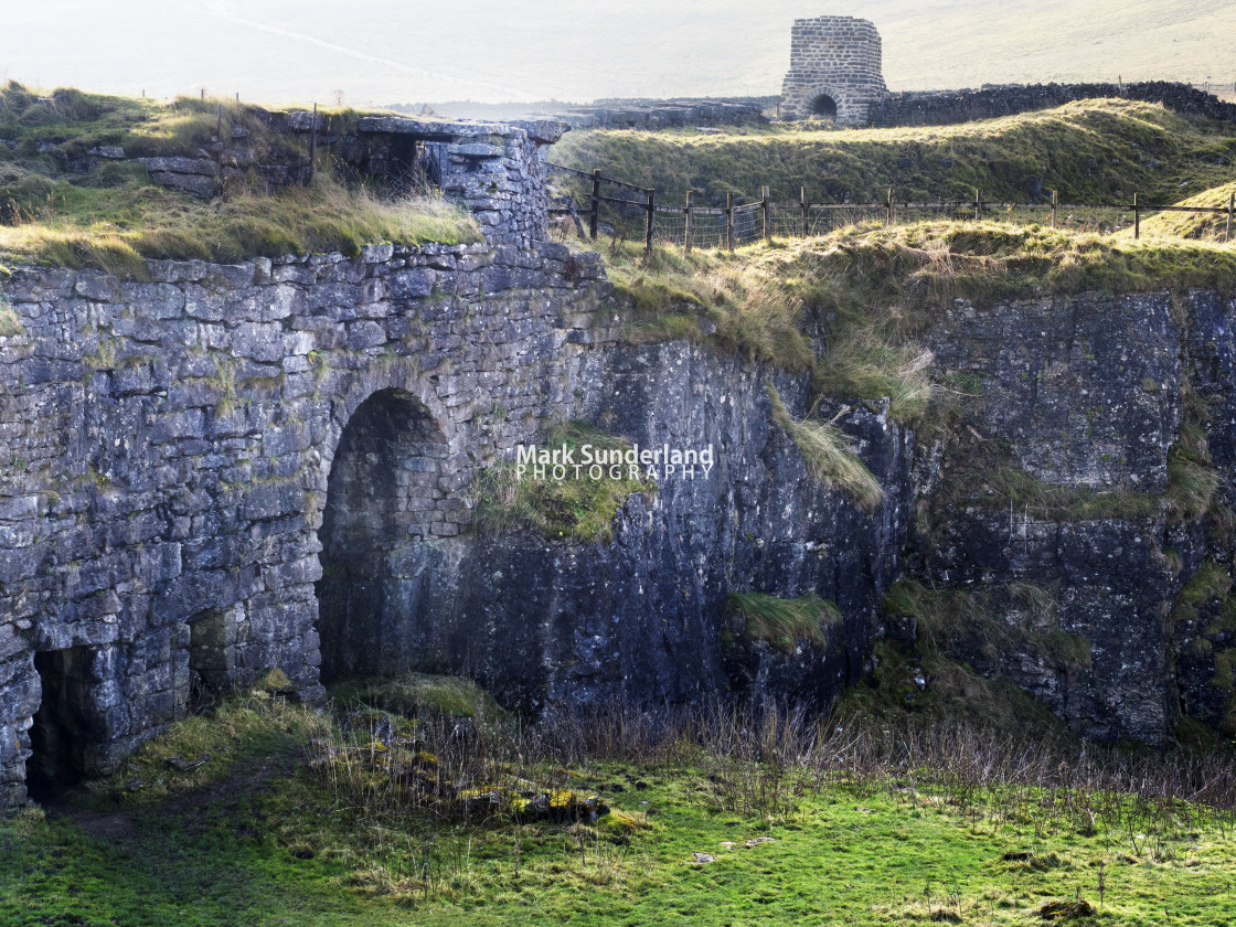 """Toft Gate Lime Kiln at Greenhow"" stock image"
