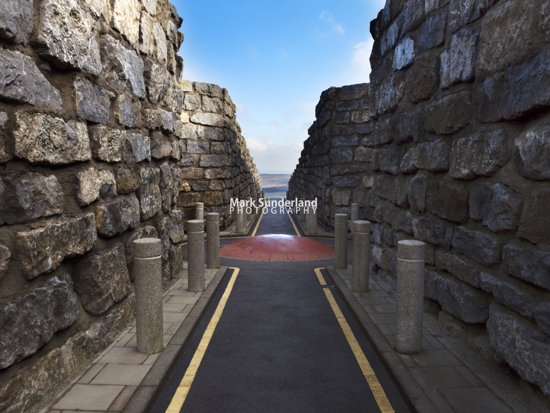 """""""The Coldstones Cut at Greenhow"""" stock image"""