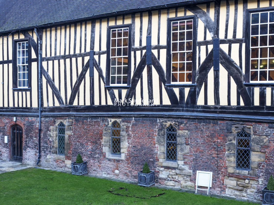 """""""Merchant Adventurers Hall in York"""" stock image"""