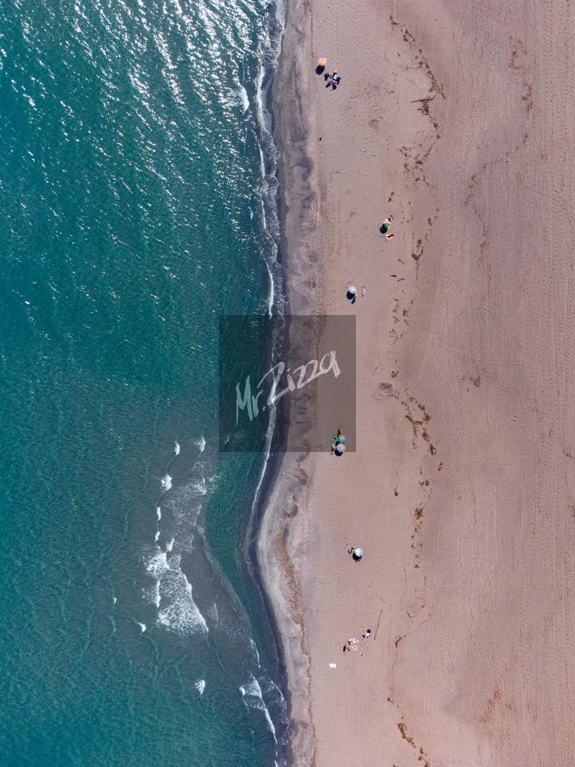 """""""La playa"""" stock image"""