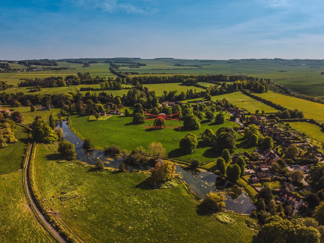 """Ardington near Wantage, Oxfordshire"" stock image"