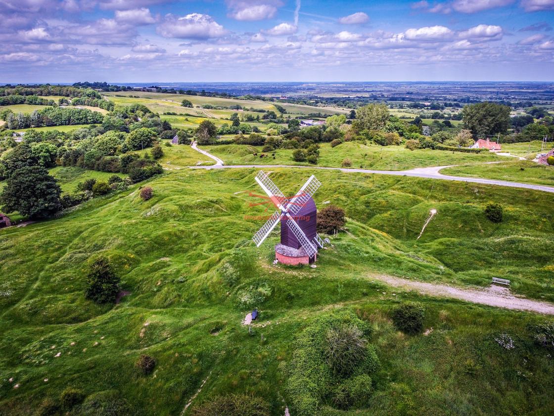 """Brill Windmill, Oxfordshire, UK"" stock image"