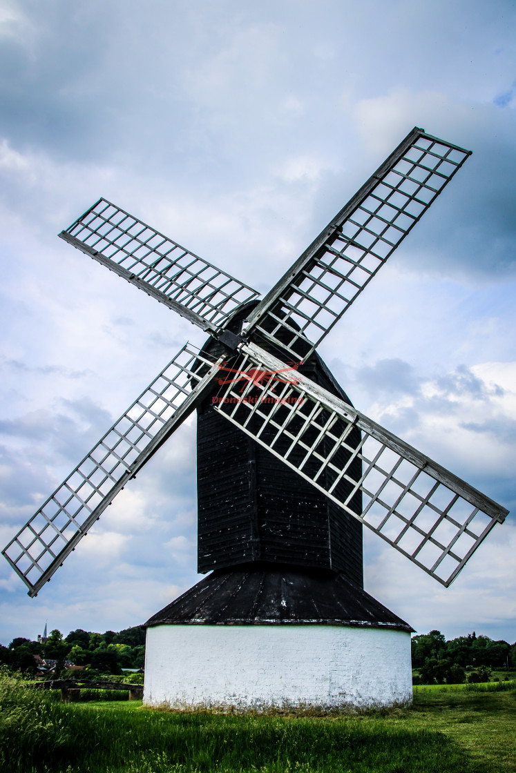 """Pitstone Windmill, Buckinghamshire, UK"" stock image"