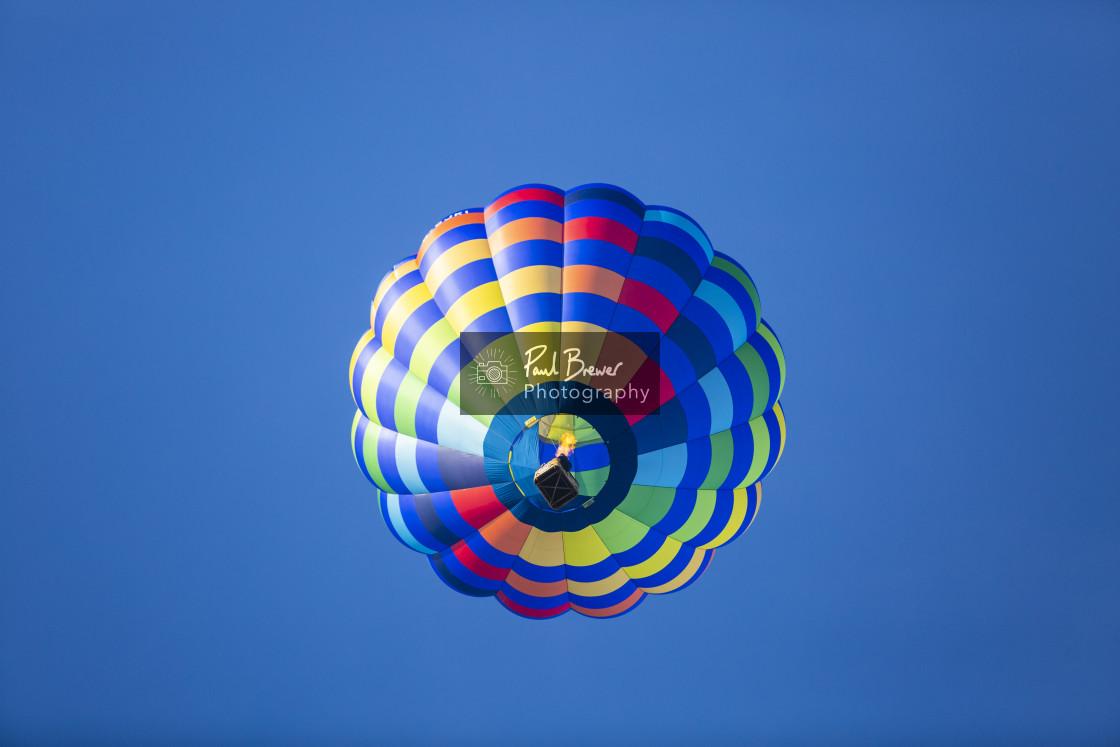 """Balloons at Longleat"" stock image"