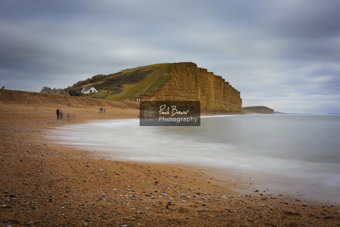 """West Bay Dorset"" stock image"