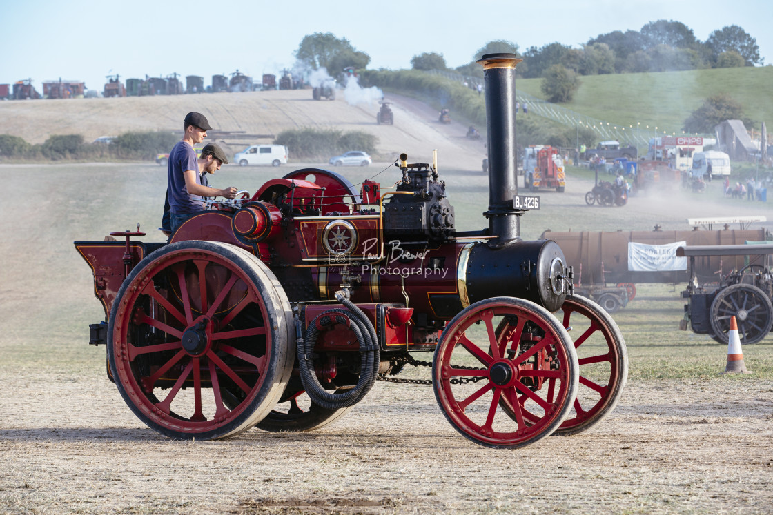 """Garrett Tractor The Chough"" stock image"
